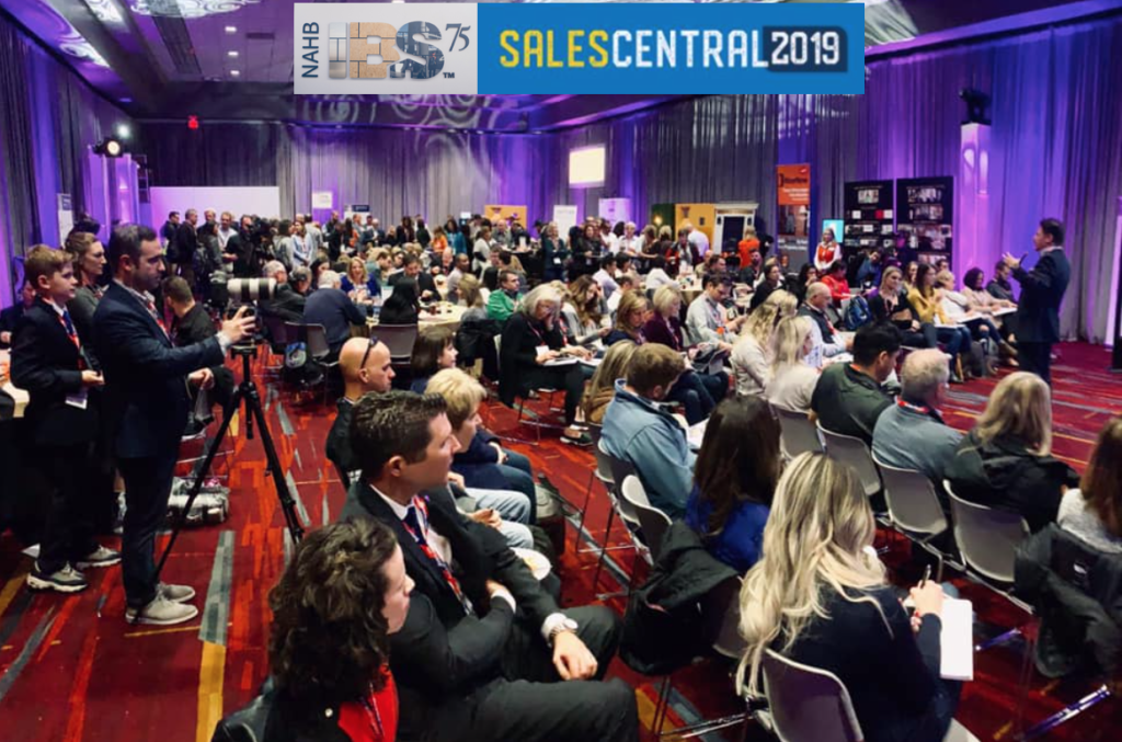 New Home Sales Coach Roland Nairnsey at Sales Central 2019