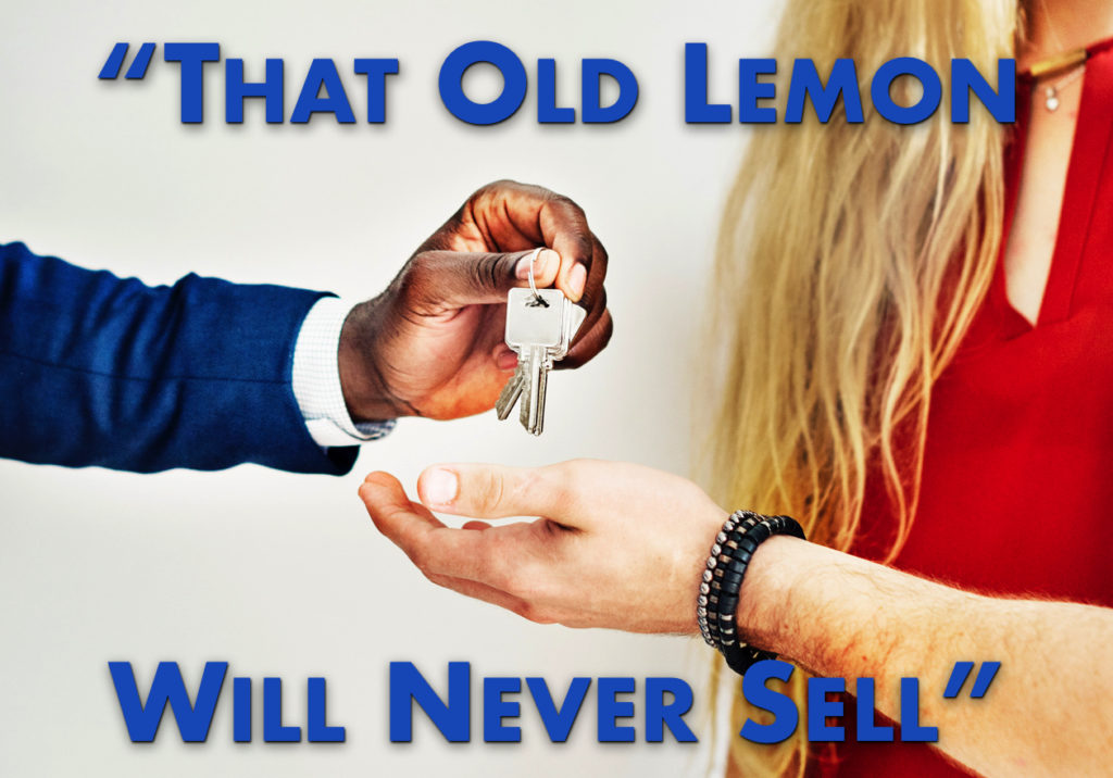 Selling the Aged Homes in Your Inventory