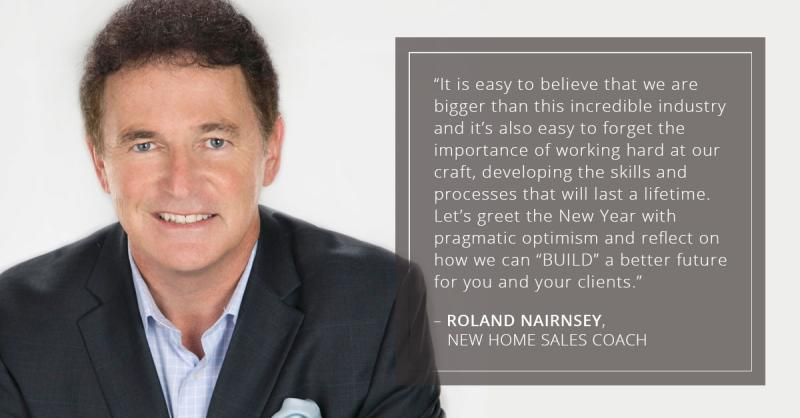 Roland Nairnsey, New Home Sales Plus, explains how to build your 2020 vision