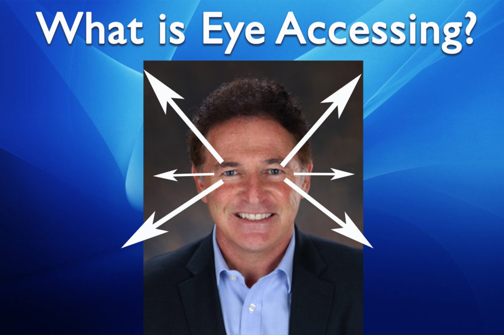 What is Eye Accessing in Neuro Linguistic Programming